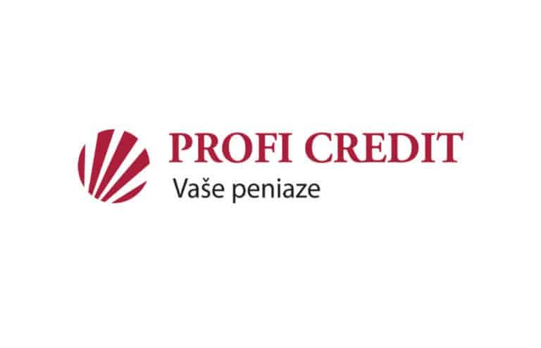Pôžička od ProfiCredit
